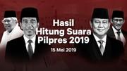 Hasil Sementara Real Count Pemilu 2019