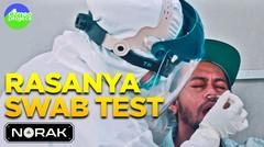MENCOBA SWAB TEST PERTAMA KALI