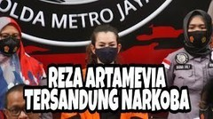 BREAKING NEWS, REZA ARTAMEVIA TERT4NGK4P N4RK0BA OLEH PIHAK KEPOLISIAN