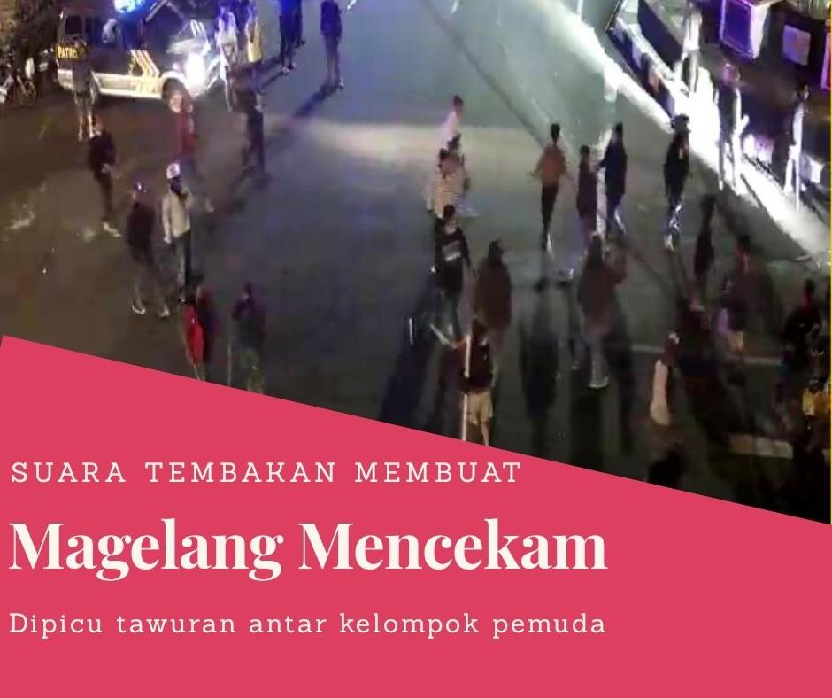 Magelang Dicekam Suara Tembakan, Minggu Malam 21 April 2019