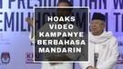 HOAKS VIDEO KAMPANYE BERBAHASA MANDARIN