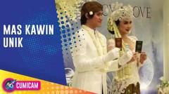Air Mata Warnai Pernikahan Kevin Aprilio dan Vicy Melanie