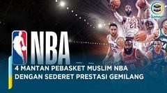 Mantan Pebasket Muslim NBA dengan Sederet Prestasi Gemilang, Siapa Favoritmu_