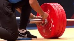 Weightlifting Men's 77kg Final - I Ketut Ariana Raih Emas