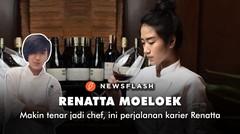 Makin tenar jadi chef, ini perjalanan karier Renatta Moeloek