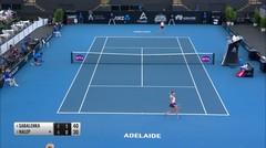 Match Highlight | Aryna Sabalenka 2 vs 0 Simona Halep | WTA Adelaide International 2020