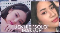 BLACKPINK Jennie 'SOLO' Pink Makeup - Kevina Christina
