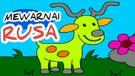 Learning Color for Kids! Belajar Mewarnai Rusa untuk Anak TK dan PAUD