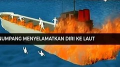 Apa Penyebab Kapal Wisata Zahro Express Terbakar