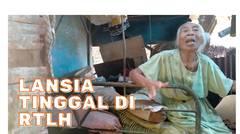 Bu Uun, Lansia Bandung yang Tinggal Sendirian di Rumah Tak Layak