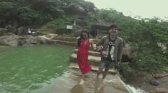 [Behind The Scene] Basah Menggoda Leila Zeedy di Male Indonesia