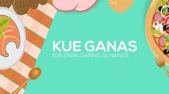 Kue Ganas (Kue Enak Garing Isi Nanas)