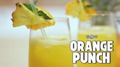 Resep Orange Punch