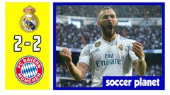 Real Madrid vs Bayern Munchen 2-2 All Goals & Highlights April 2018