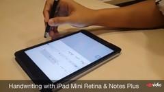 Menulis dengan iPad Mini