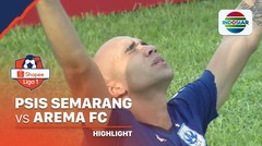 Highlights - PSIS Semarang 2 vs 0 Arema FC | Shopee Liga 1 2020
