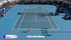 Match Highlights | Ann Li 2 vs 0 Sorana Cirstea | WTA Melbourne Open 2021