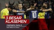 Highlights Serie A, Inter Milan Muluskan langkah ke Liga Champions