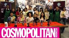 [Cosmo Club] Merayakan Valentine Bersama Starbucks Indonesia