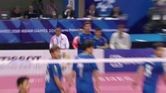 Full Highlight Sepak Takraw Putra - Laos vs China    Asian Games 2018