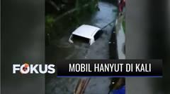Salah Pindah Gigi, Mobil Sedan di Bekasi Masuk dan Hanyut di Saluran Air hingga Ratusan Meter | Fokus