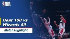 Match Highlight | Miami Heat 100 vs 89 Washington Wizards | NBA Regular Season 2019/20