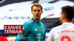 Melihat Aksi Kiper Bayern Munchen, Manuel Neuer dan 4 Saves Terbaik Bundesliga Pekan 22