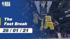 The Fast Break | Cuplikan Pertandingan - 26 Januari 2021 | NBA Regular Season 2020/21