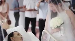 Pernikahan Yang Mengharukan, Pengantin Pria Meninggal 10 Jam Setelah Menikah