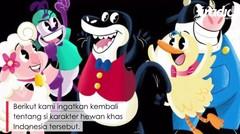 Kisah boneka Si Komo, serial anak yang populer di tahun 90-an