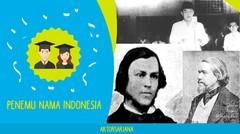 INILAH PENEMU NAMA INDONESIA