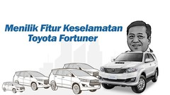 Menilik Fitur Keselamatan Toyota Furtuner Pascakecelakaan Setnov