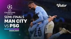 Highlight - Man City vs PSG I UEFA Champions League 2020/2021
