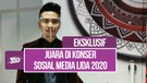 Eksklusif! Hari Bersyukur Bawa 2 Piala di Konser Sosial Media LIDA 2020