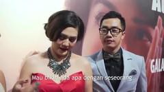 Gala Premiere AADC2 - Sissy Pricilla dan Dennis Adiswara