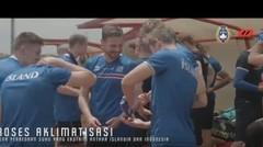 Timnas Islandia Lakukan Proses Aklimatisasi di Sesi Latihan