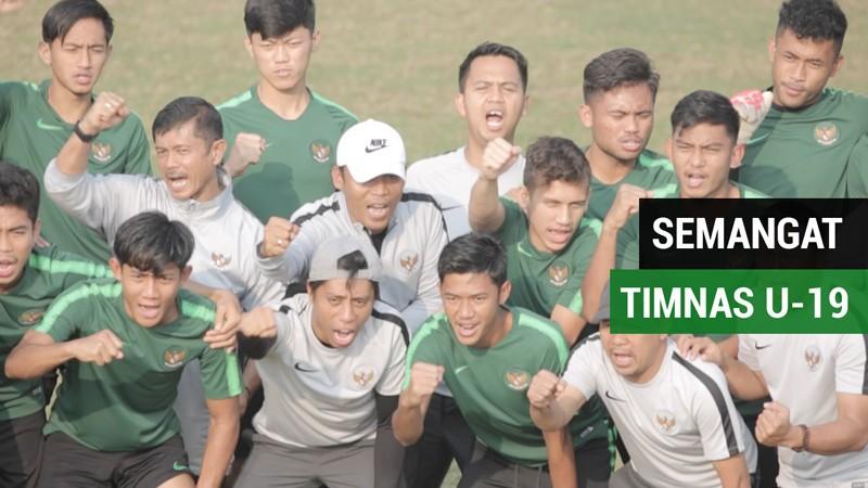 Timnas Indonesia U-19 dengan Semangat Sumpah Pemuda Sebelum