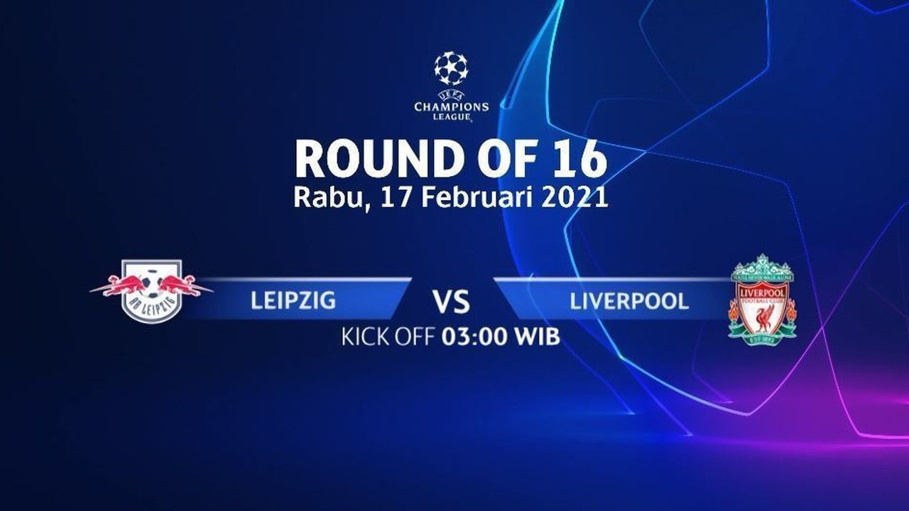 Streaming Jadwal Pertandingan | Leipzig vs Liverpool - 17 ...