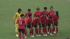 Full Match Sepak Bola Putri Korea Selatan Vs Jepang 1 - 2 | Asian Games 2018