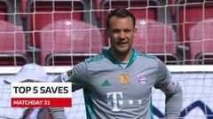 5 Saves Terbaik Bundesliga Pekan 31, Cek Aksi Mengesankan dari Manuel Neuer