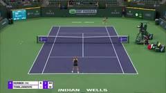 Match Highlights | Angelique Kerber 2 vs 0 Ajla Tomljanovic | BNP Paribas Open 2021