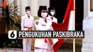 Presiden Jokowi Kukuhkan Paskibraka Nasional 2020 di Istana Negara