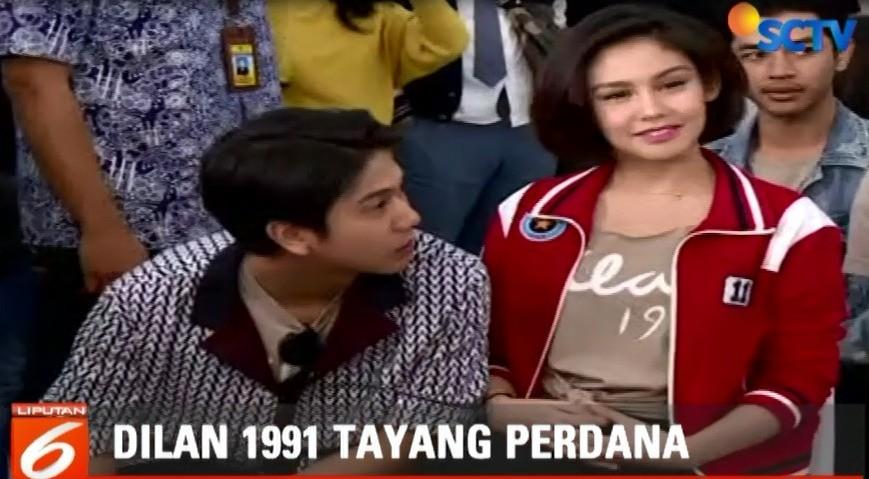 Streaming Pemutaran Perdana Film Dilan 1991 Di Bandung Berlangsung Meriah Liputan 6 Pagi Vidio
