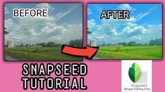 Editing photo dengan snapseed, snapseed tutorial #5