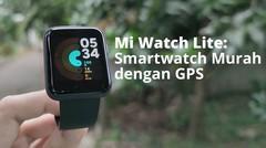 NGOBROLIN Mi watch Lite:  Smartwatch Murah dengan Fungsi Dasar dan GPS