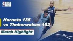 Match Highlight   Charlotte Hornets 135 vs 102 Minnesota Timberwolves   NBA Regular Season 2020/21