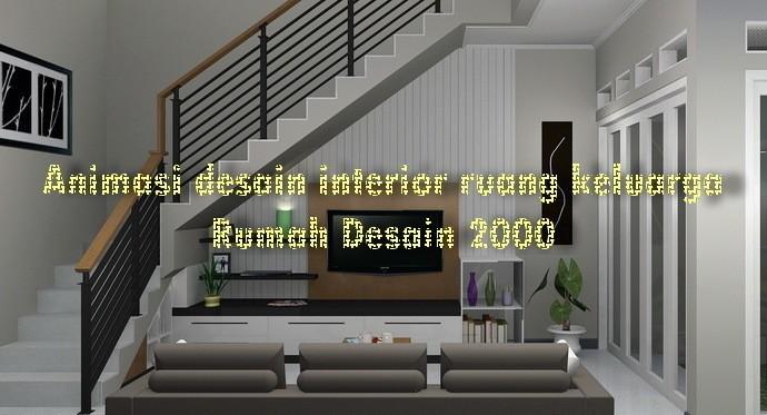 Top Desain Ruang Tamu Di Teras Rumah  animasi interior ruang keluarga rumah desain 2000