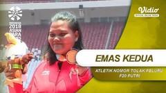 Suparniyati Sumbang Emas Kedua untuk Tim Indonesia