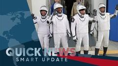 4 Astronot dibawa pesawat Space X Tiba di Stasiun Luar Angkasa