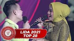 """Bikin Baper!! Dimabuk Asmara!! Berlian (Sultra)-Faul LIDA """"Nyanyian Rindu"""" Buat Juri Bahagia Dan Beri All SO!!   LIDA 2021"""